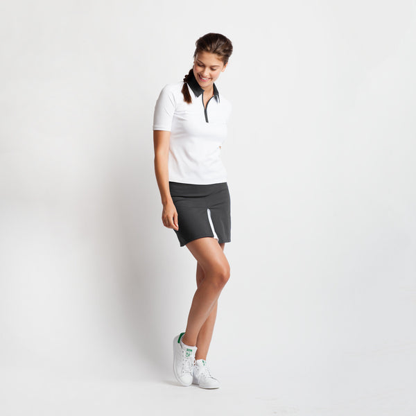 Peekaboo Pleat Golf Skirt