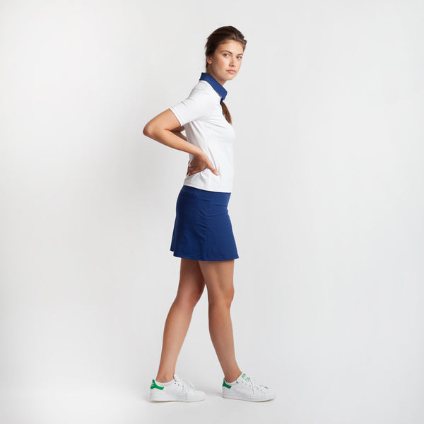 Peekaboo Pleat Golf Skort