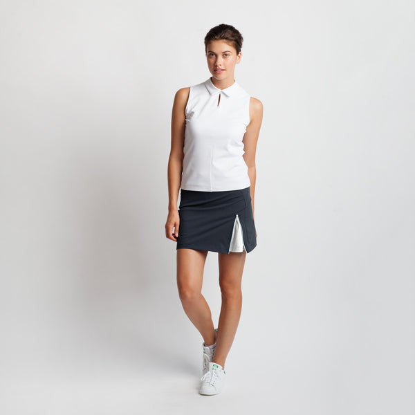 Zip it Up Golf Skirt