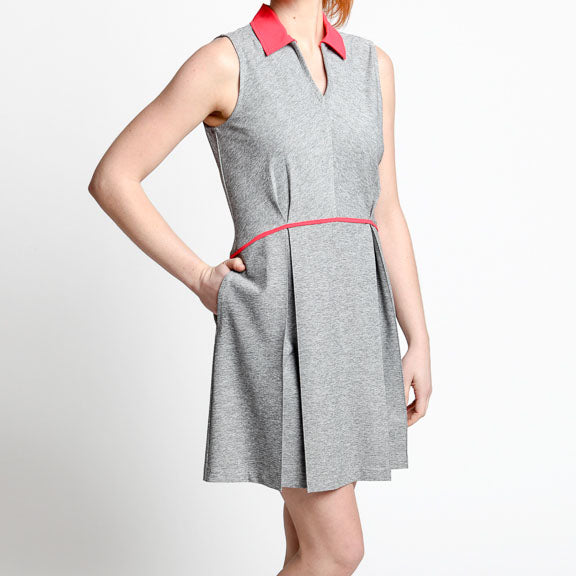Pleated Golf Dress