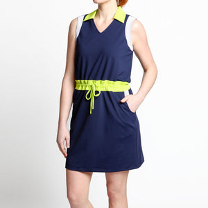 Drawstring Golf Dress