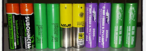 18650 Batteries at Grand Rapids E-Liquid