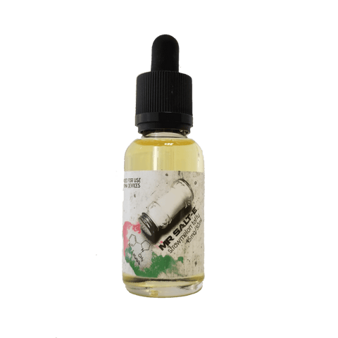 """Strawmelon Taffy"" Vape Juice by Mr. Salt-E"