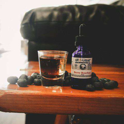 Berry Bourbon Vape Juice - Grand Rapids E-Liquid