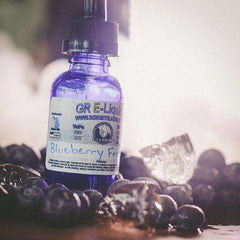 Blueberry Frost Menthol Flavored Vape Juice