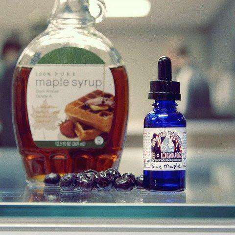 Blueberry Maple Vape Juice - Grand Rapids E-Liquid