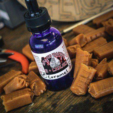 Caramel Vape Juice - Grand Rapids E-Liquid