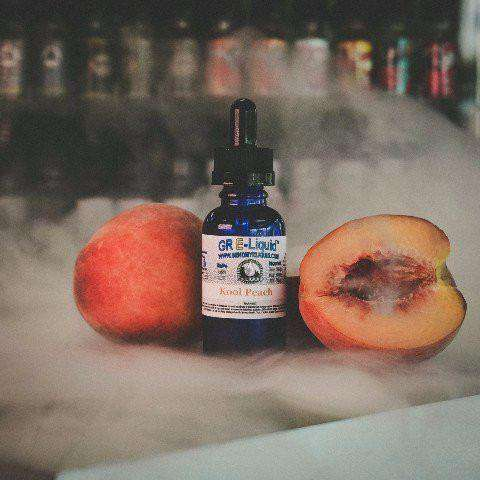 Kool Peach Vape Juice - Grand Rapids E-Liquid