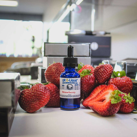 Strawberry Vape Juice - Grand Rapids E-Liquid