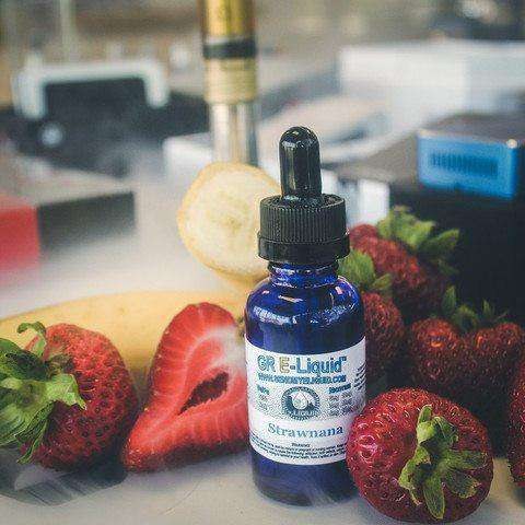 Strawnana Vape Juice - Grand Rapids E-Liquid
