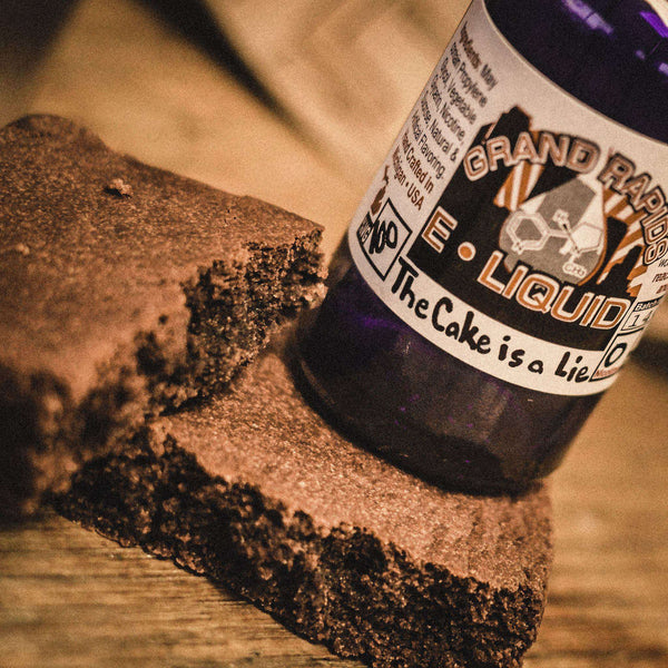 The Cake is a Lie Vape Juice - Grand Rapids E-Liquid