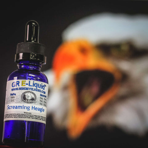 Screaming Heagle Vape Juice - Grand Rapids E-Liquid