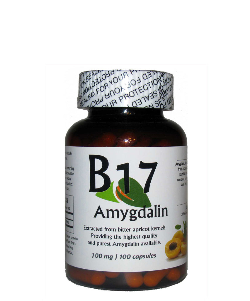 Vitamin B17 Amygdalin 100mg 100 Capsules