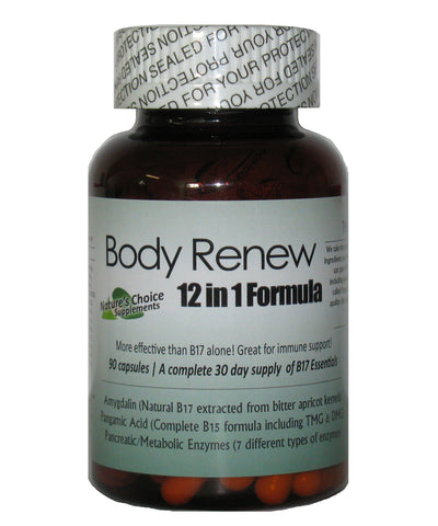 Body Renew with B17 12 in 1 Formula 90 Caps