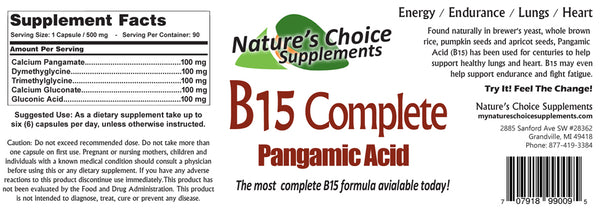Combo 3 Pack! B17, B15 & Enzyme Complete
