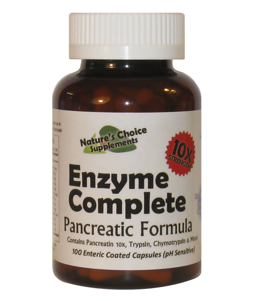 Enzyme Complete 10x Pancreatic Formula