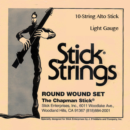 Alto String Set: Light Gauge (recommended, select tuning)