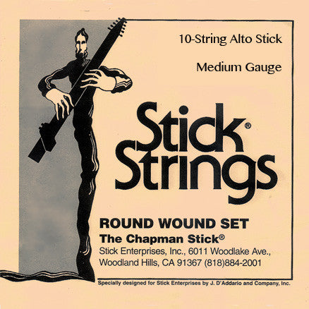 Alto String Set: Medium Gauge (select tuning)
