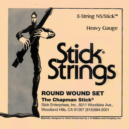 8-string NS/Stick™ Set: Heavy Gauge (recommended, select tuning)