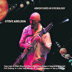 """Adventures in Stickology"" CD - Steve Adelson"