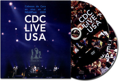 """Cabezas de Cera, Live USA"" DVD and CD"