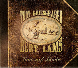 """Unnamed Lands"" CD - Bert Lams and Tom Griesgraber"
