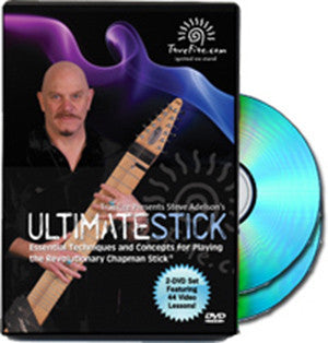 """Ultimate Stick"" double DVD from TrueFire - Steve Adelson"