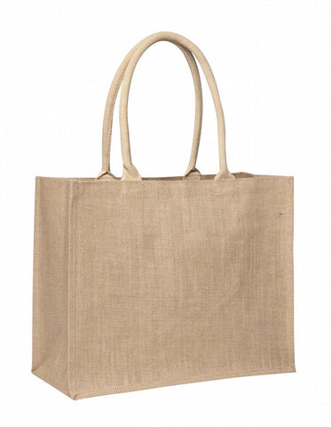 Sample Laminated Jute Supermarket Bag