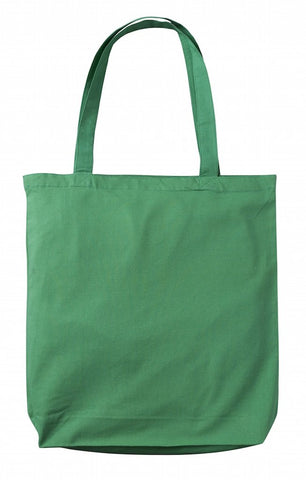 Sample Green Cotton Tote Bag