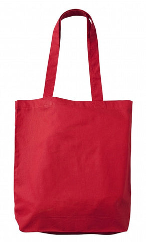 Sample Red Cotton Tote Bag