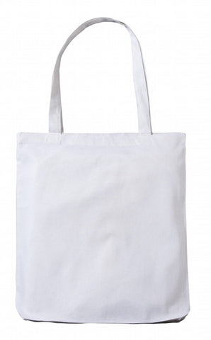 Sample White Cotton Tote Bag