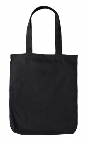Sample Black Heavy-weight Canvas Tote Bag