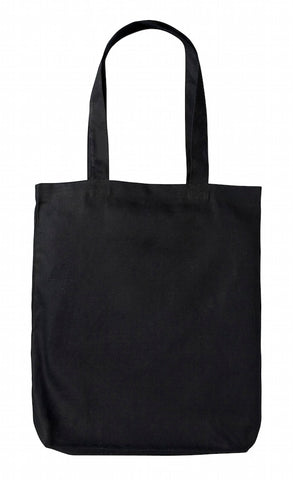 Black Heavy-weight Canvas Tote Bag