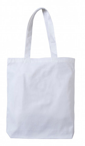 White Heavy-weight Canvas Tote Bag