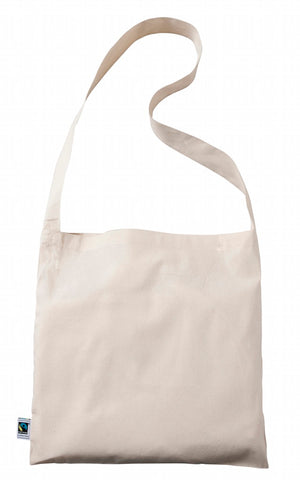 Fairtrade Cotton Messenger Bag