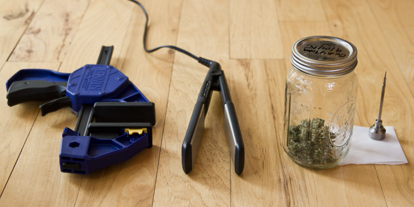 What you need to Make Rosin Tech Concentrates at Home