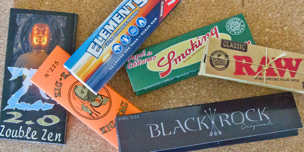 types of rolling papers