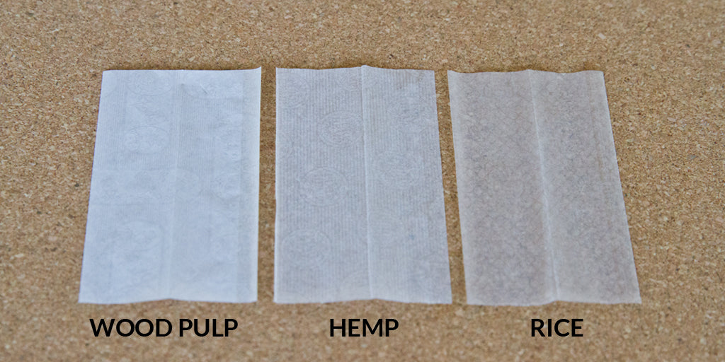 rolling papers materials comparison
