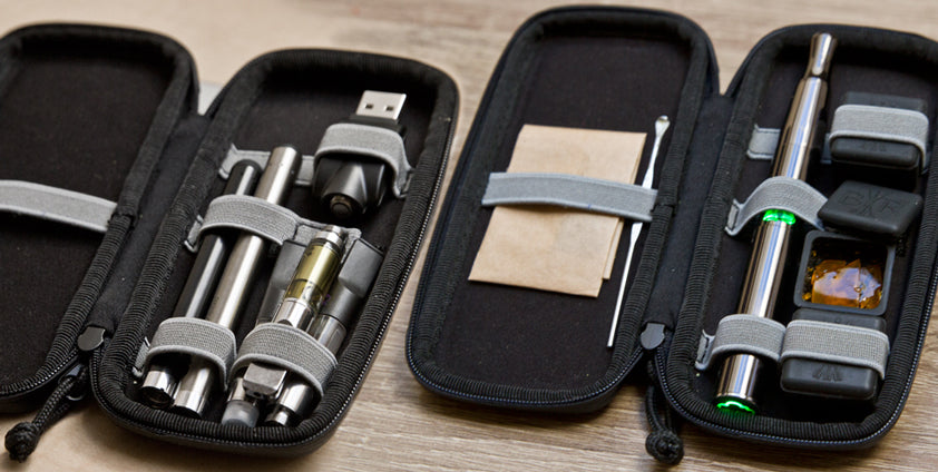 Vaporizer travel case