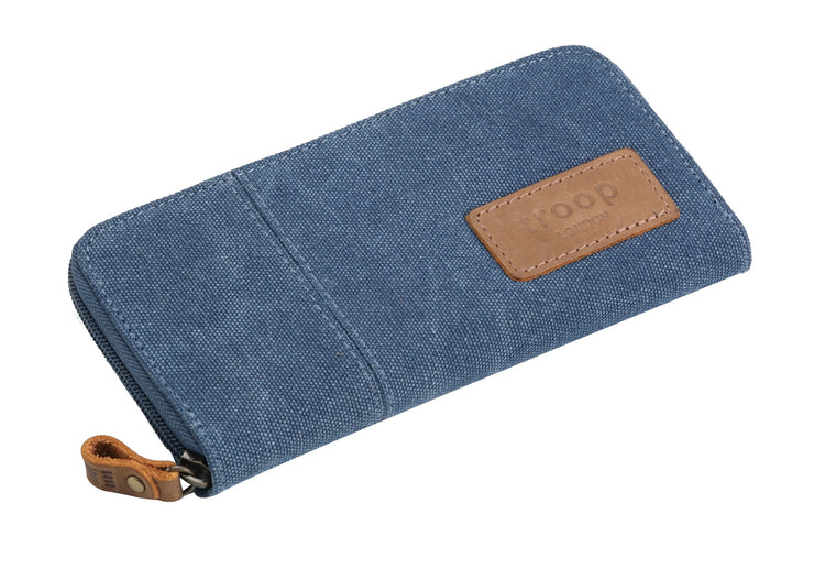 Troop Keystone Long Canvas Wallet