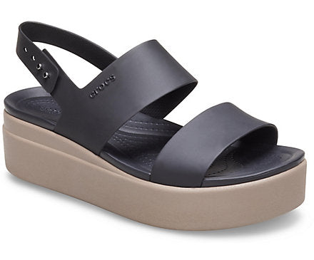 Crocs Brooklyn Low Wedge Sandal