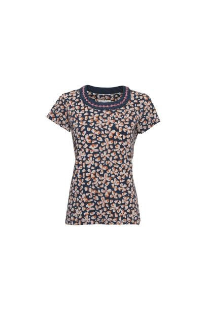Brakeburn Petals Embroidered Tee