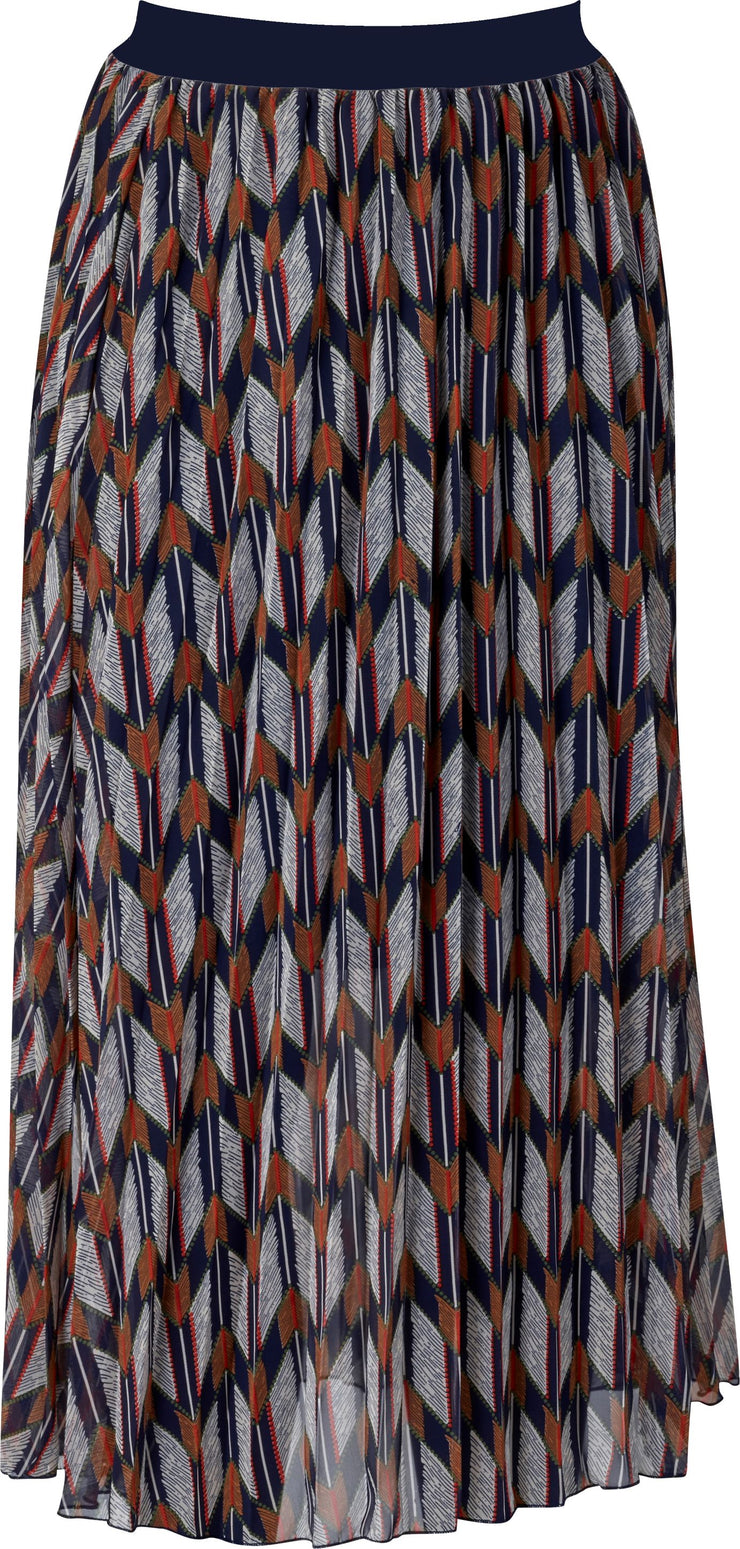 Vassalli Pleated Skirt