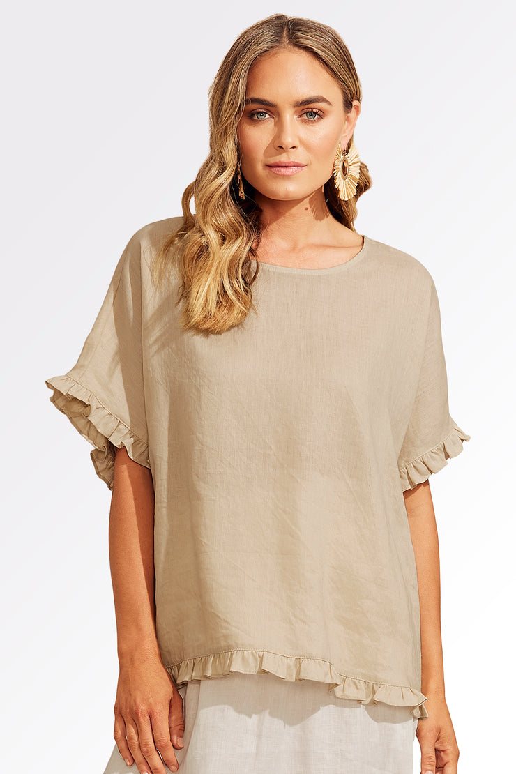 Haven Majorca Frill top