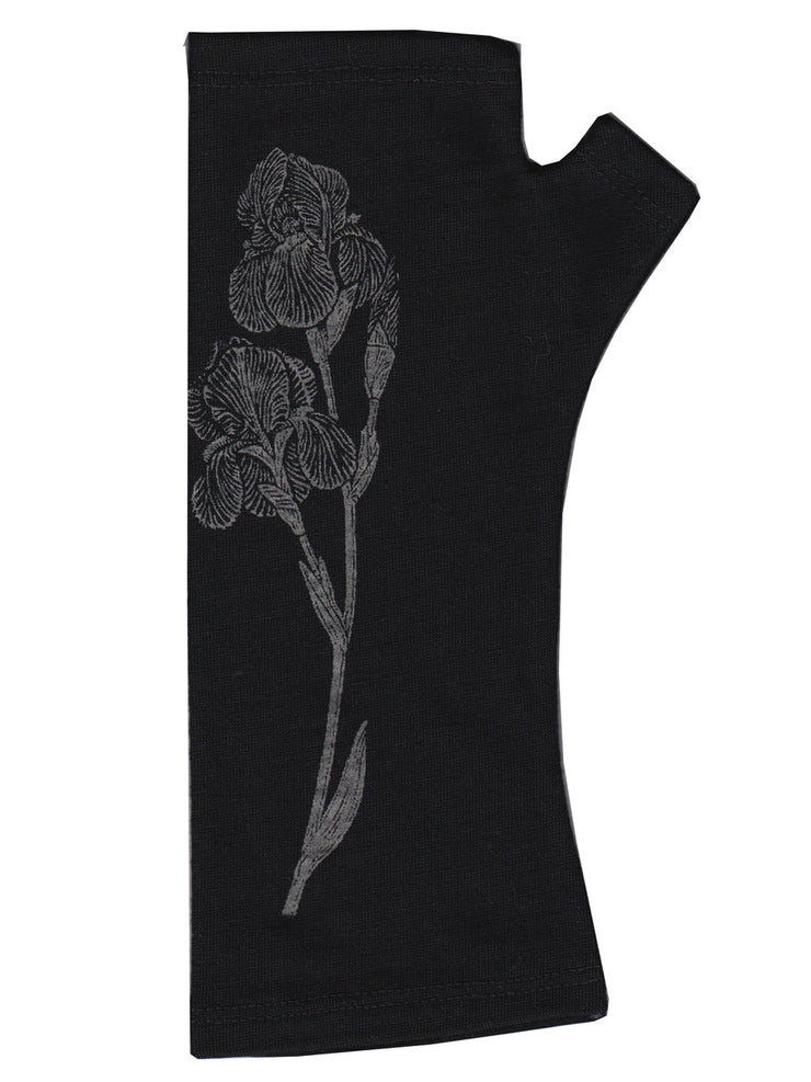 Kate Watts Black Iris Print Glove