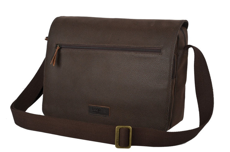 Troop Livingstone Flap Front Messenger Bag