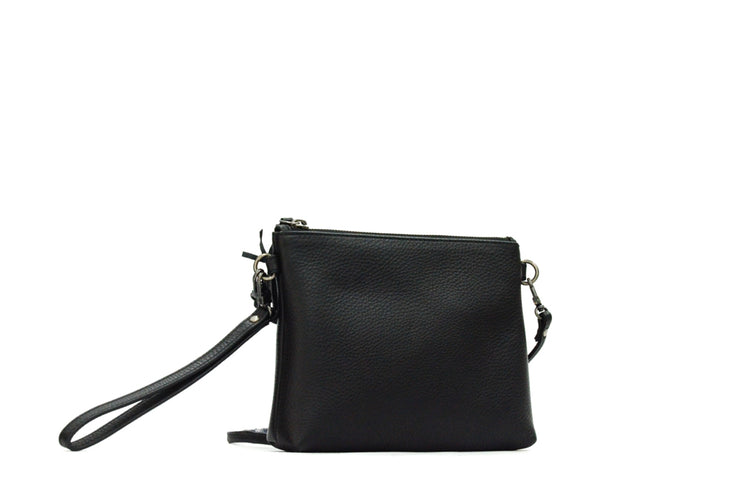 Hermes Designer Leather Black