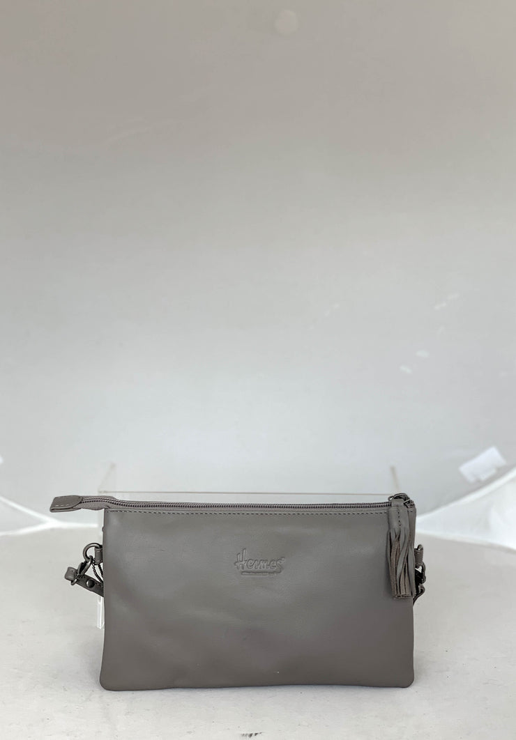Hermes Milano Grey Bag