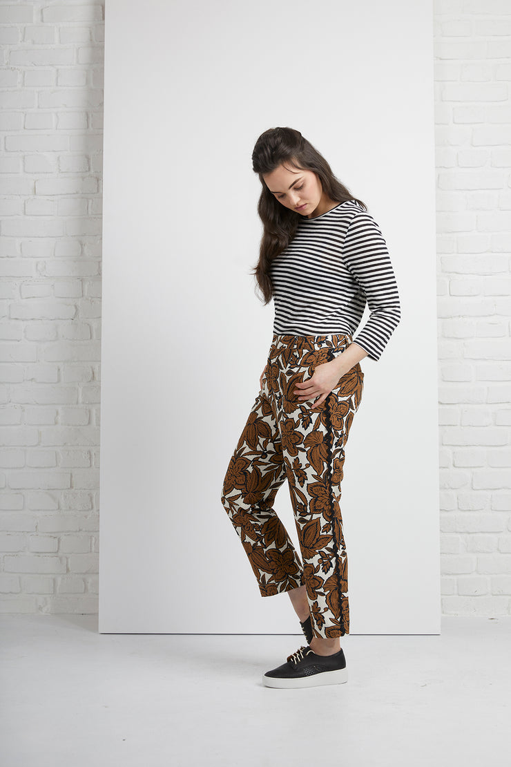 Siren Pant with trim detail