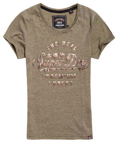Superdry Luxury Foil Entry Tee